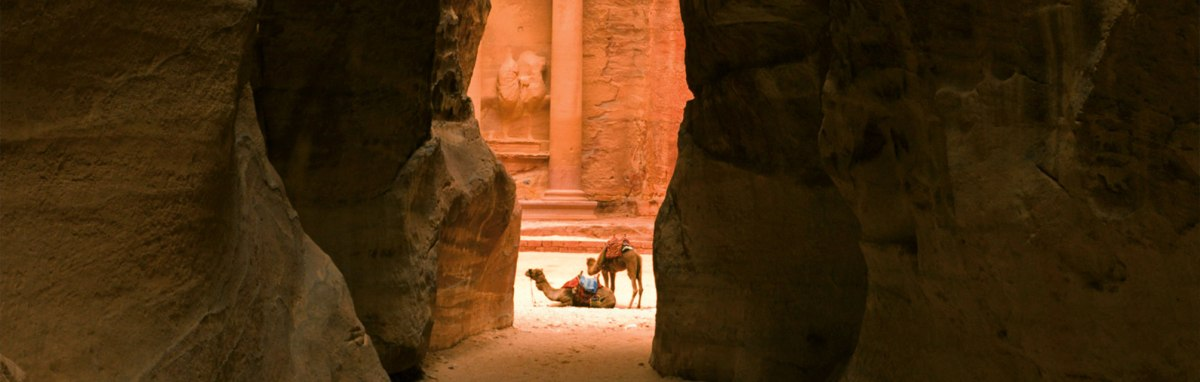 Wouldn't I dream of being inPetra!