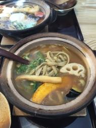 Komatsuan Soba lunch1