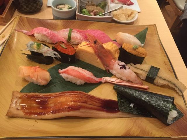 Midori Sohonten dinner 4