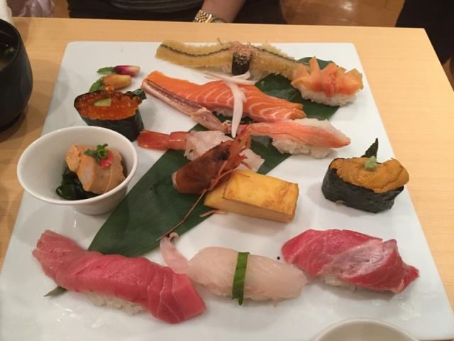 Midori Sohonten dinner 5