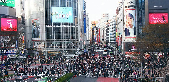Shibuya crowd