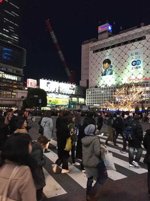 Shibuya road crossing1