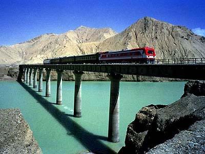 Tibet Qinghai rail