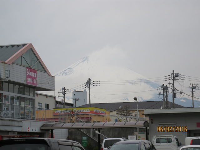 View of Fuji from Aeon2
