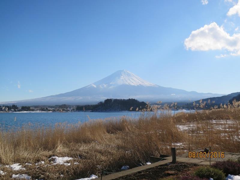 Lake Kawaguchi - living museum Fuji view 2