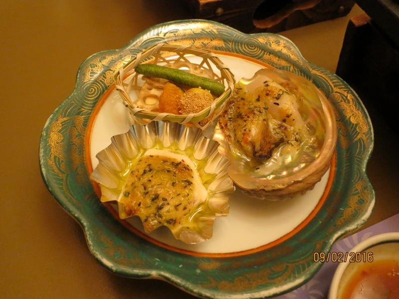 Maruei Ryokan Dinner2