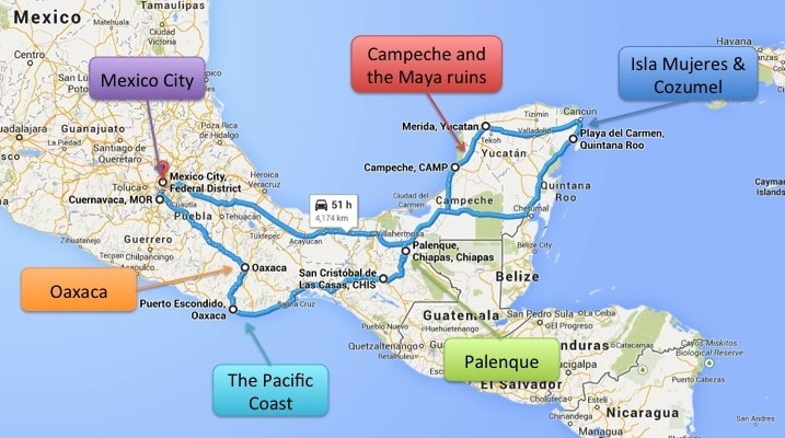 Mexico roadtrip