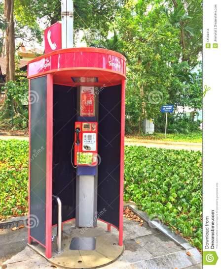 Singapore Phone booth3
