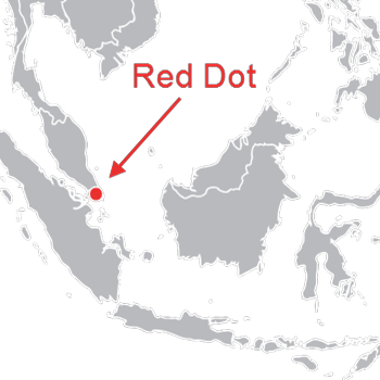 Singapore red dot