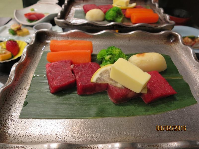 Yamagishi Ryokan dinner 2