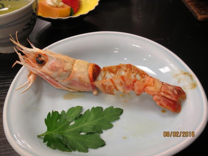 Yamagishi Ryokan dinner 3