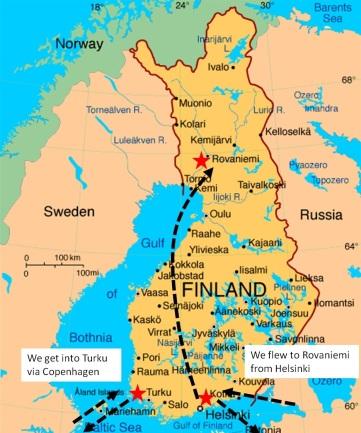 Adventures in Finland