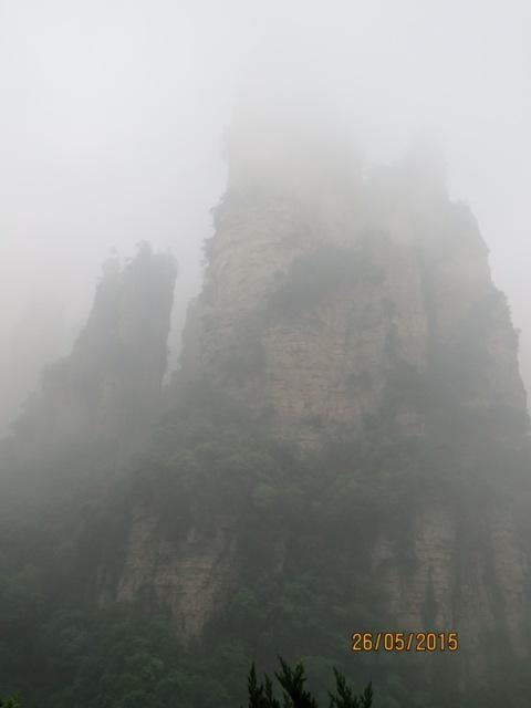 Bailong Karst column3