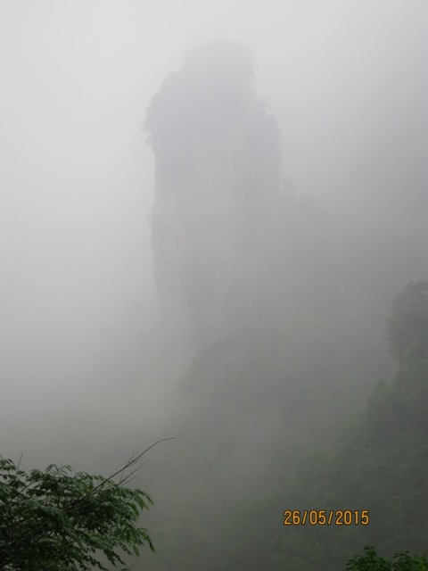 Bailong Karst column6