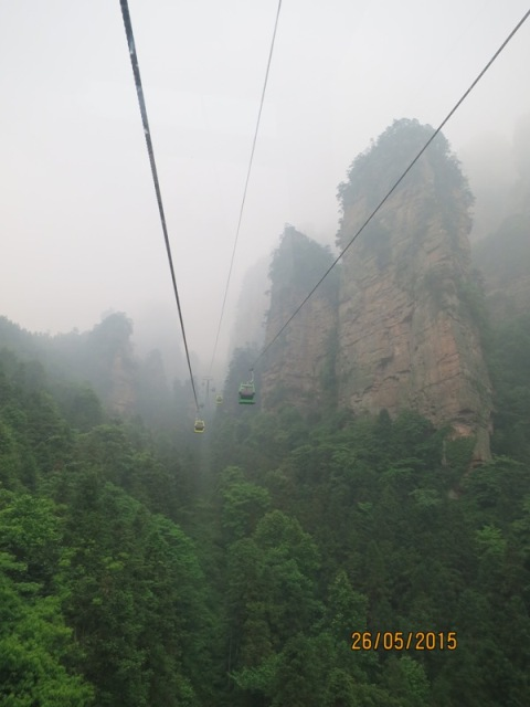 Cable car ride to YJJ2