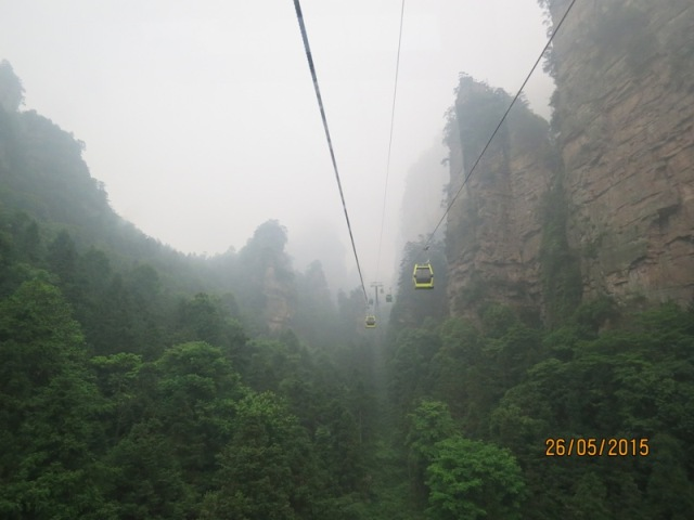 Cable car ride to YJJ3