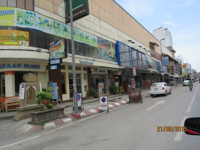 Changklan road in the day