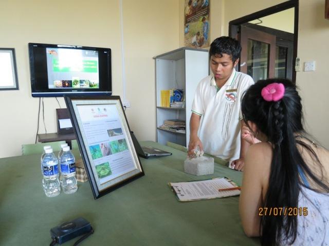 Conservation centre - presentation
