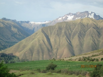 Drive from Pisonay to Cusco3