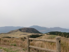 Drive to Mt Aso18