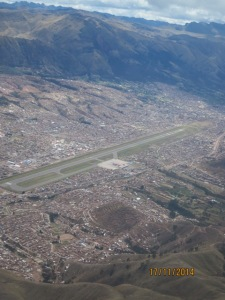 Flying to Cusco29