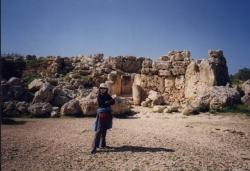 Gozo Ggantija temples 1