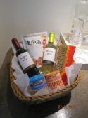 Hanga Roa welcome basket