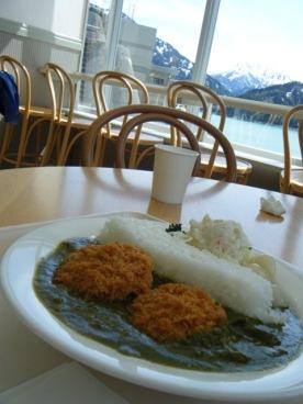 Late lunch at Kurobe2