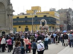 Lima Religious procession3
