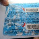 Machu Picchu bus ticket