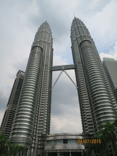 Petronas Twin tower day8