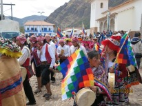 Pisac town anniversary procession5