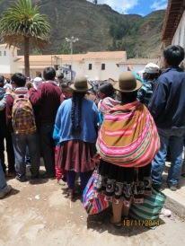 Pisac town anniversary procession7