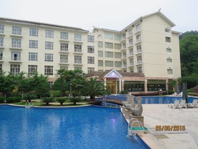 Pullman hotel Pool area1
