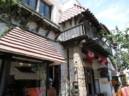 Restaurant alley La Paz street 2