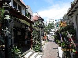 Restaurant alley La Paz street 3