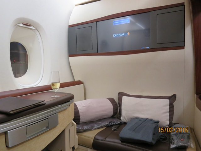 A bed for theflight
