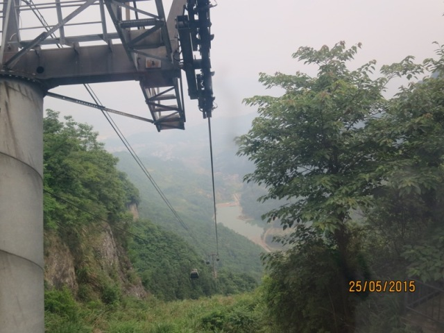 Tianmen Cable car ride up11