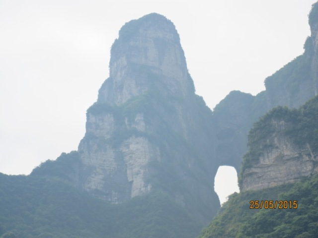 Tianmen Cable car ride up17