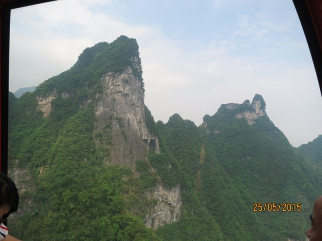 Tianmen Cable car ride up21