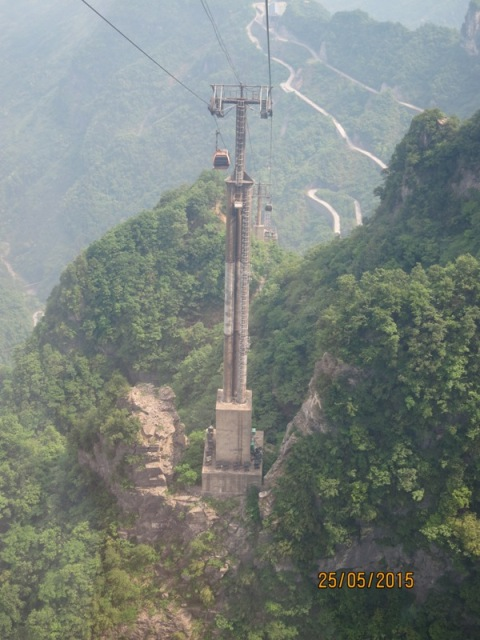 Tianmen Cable car ride up23