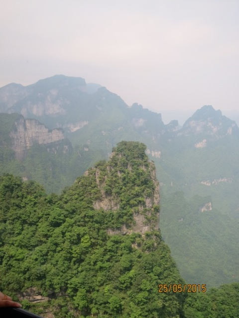 Tianmen Cable car ride up24