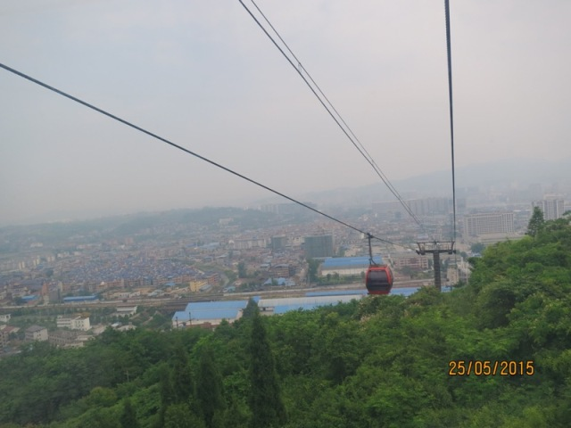 Tianmen Cable car ride up3