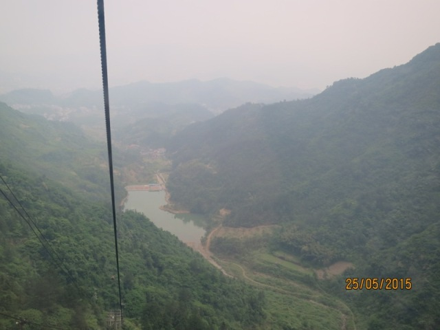 Tianmen Cable car ride up8