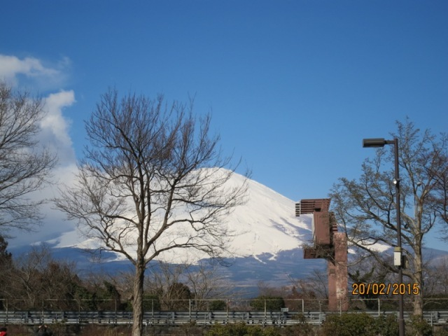 View of Fuji from Gotemba2