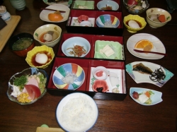 Ryokan breakfast1