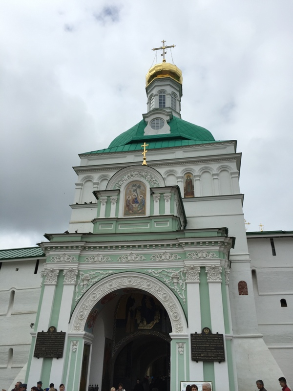 Entry to St Sergius Lavra2