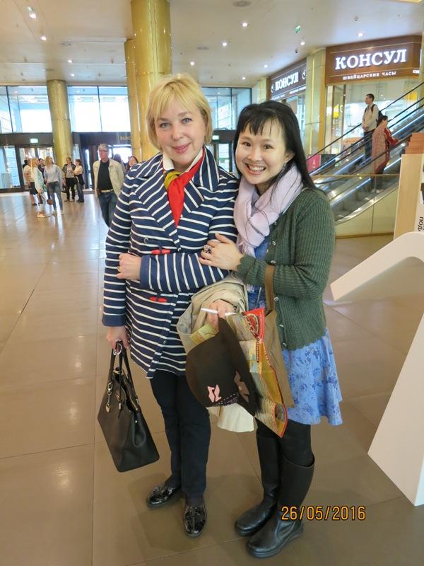 Irina our guide2