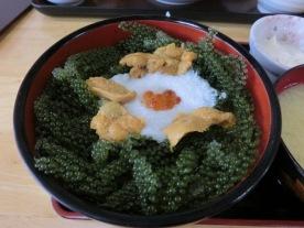 Onna lunch - grape seaweed1