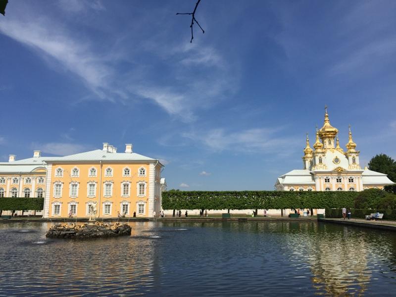 Peterhof Front garden view5